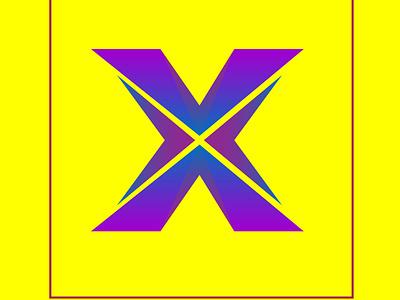 x latter logo animation app typography vector illustrator art saydmahamud alatterlogo logo branding illustration design