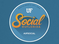Social@UF Sticker
