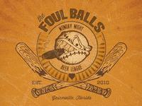 Vintage Foul Balls