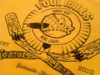 Foul Balls Softball Team Logo (printed)