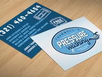 Trammell's Pressure Washing (biz card)