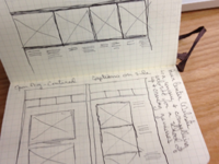 Portfolio site brainstorming