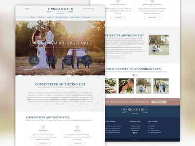 Wedding Venue Website