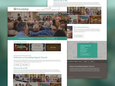 Baptist Church Website designs, themes, templates and