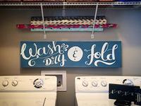 Wash Dry & Fold