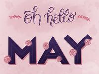 oh hello may!