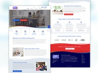 Heating / Cooling Website