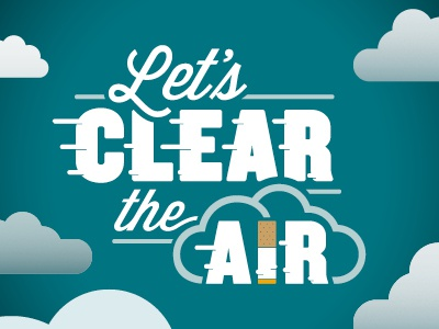 Let's Clear The Air