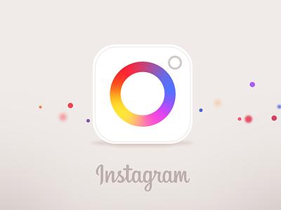One more Instagram  redesign ui ux icon instagram