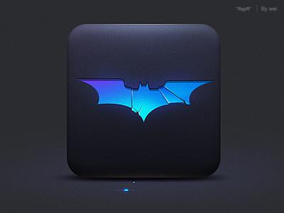 Batman icon icon batman ui glass