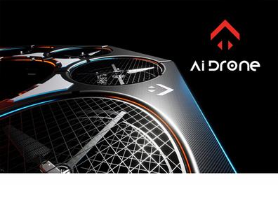 Logo & Branding for Ai Drone illustration logodesign design identity design branding agency logo presentation branding