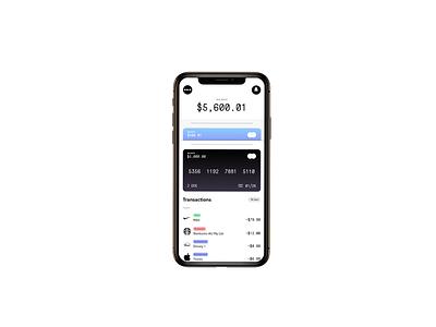 Fintech Dashboard UI Animation dashboard animation finance clean ui