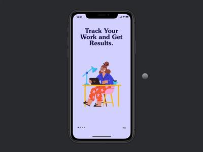 App Onboarding Animation Concept framer framerjs framerx microinteraction design ux ui gesture animation android ios app