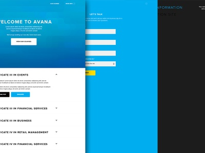 Holding page clean typography ui ux website inspiration simple one page