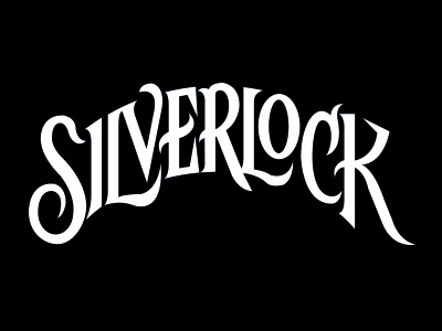 Silverlock handlettering book cover typography
