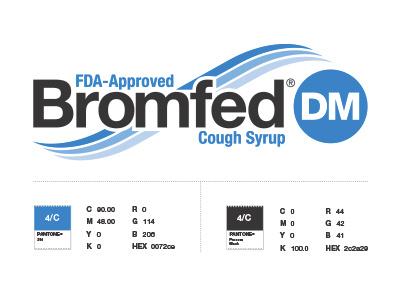 Bromfed DM trademark logo pharmaceuticals branding