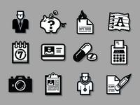 Instinctive Data Icons