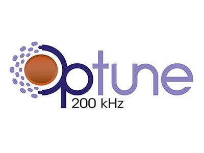 Optune logo pharmaceutical branding
