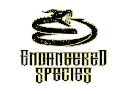 Endangered Species branding heavy metal logo