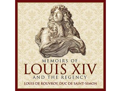 Memoirs of Louis XIV graphic design cover design audiobooks publishing
