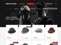 Pierre Cardin hats