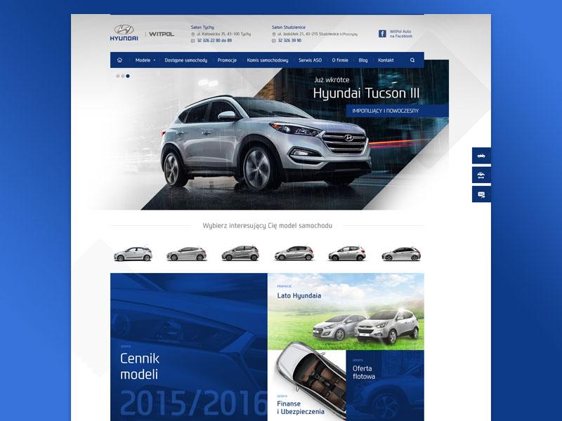 Hyundai dealer car automotive webdesign web hyundai