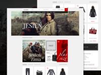 E-commerce fashion store,