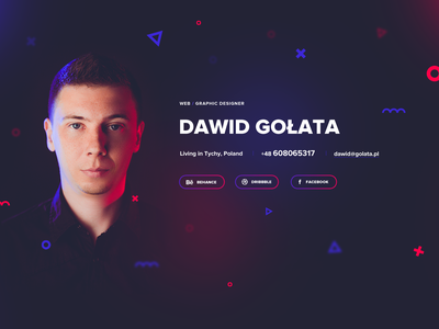My new site colorful minimalistic minimal webdesigner website ux ui web graphic about me portfolio designer