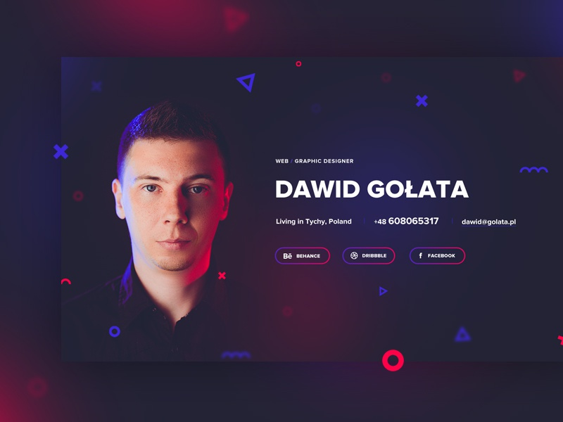 My new site colorful minimalistic minimal webdesigner website ux ui web graphic about me portfolio designer
