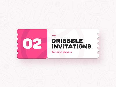 Dribbble Invites hello welcome ticket invitation invites invite dribbble