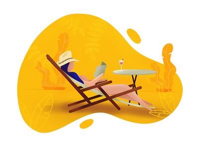 Chillout illustration