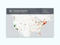 Visualising Wikipedia data!
