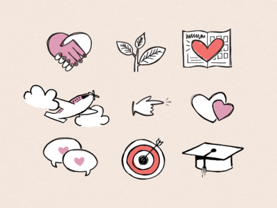 Sketchy Icons for Scentsy