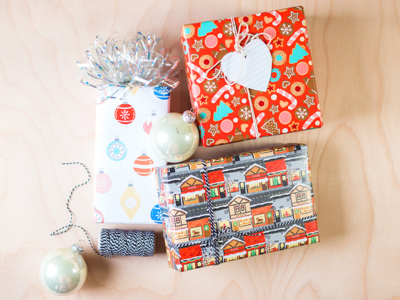 My First Skillshare Class: Designing Holiday Wrapping Paper! christmas vintage christmas cookies holiday skillshare wrapping paper