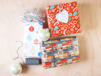 My First Skillshare Class: Designing Holiday Wrapping Paper!