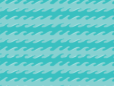 """""""Life is Swell"""" Supporting Pattern water swell beach pattern ocean waves coastal"""