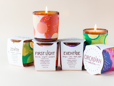 Circadian Candle Collection Packaging