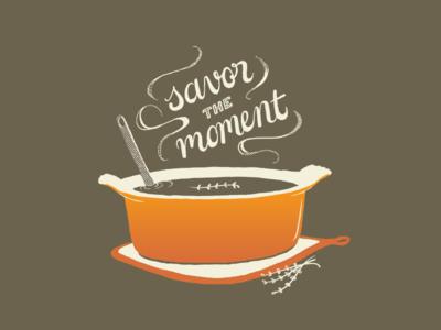 Savor the Moment soup food savor steam pot cooking
