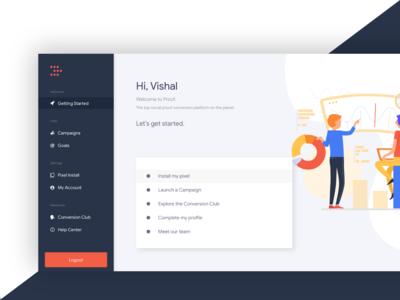 Admin Dashboard - Design (useproof)