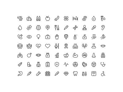 Friendly: Medical and Healthcare ui illustrator iconography thstudio icon