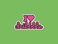 I ❤ Dribbble