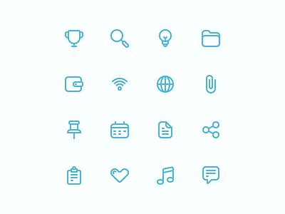 Common Icons: Part 02 design line icons iconography icon