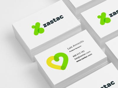 Zastac Branding stationery corporate icon branding