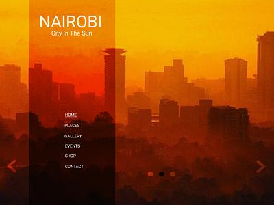 Nairobi Pt1 ux flat web ui design