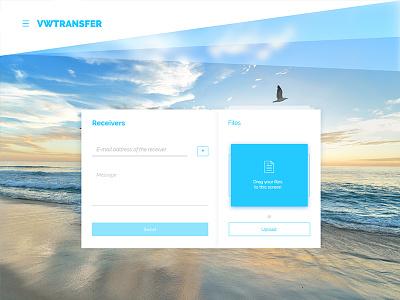 VWTransfer adobe experience design visual design ux design web design interaction design