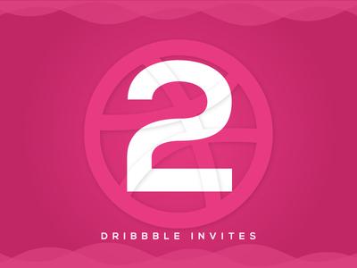 2x Dribbble Invites player dribbble invite 2x invite invitation draft invites giveaway dribbble clean ux ui