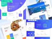 Dribbble Year in review 2018 (Top4Shots) creative interface web design clean landing page website design web ux ui year in review 2018 trends dribbble best shot dribbble top4shots