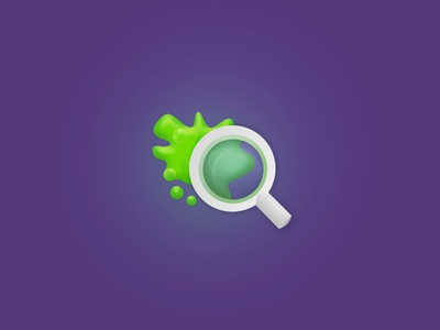 Searching for Ooze ooze icon search ux mobile ui dailyui022
