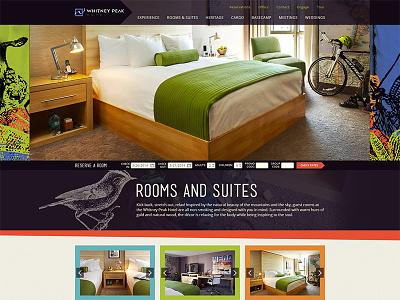Lifestyle Hotel website hotel bright