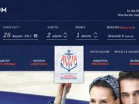 Annapolis marriot index booking